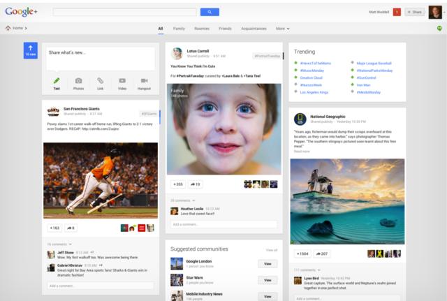Google+ Stream