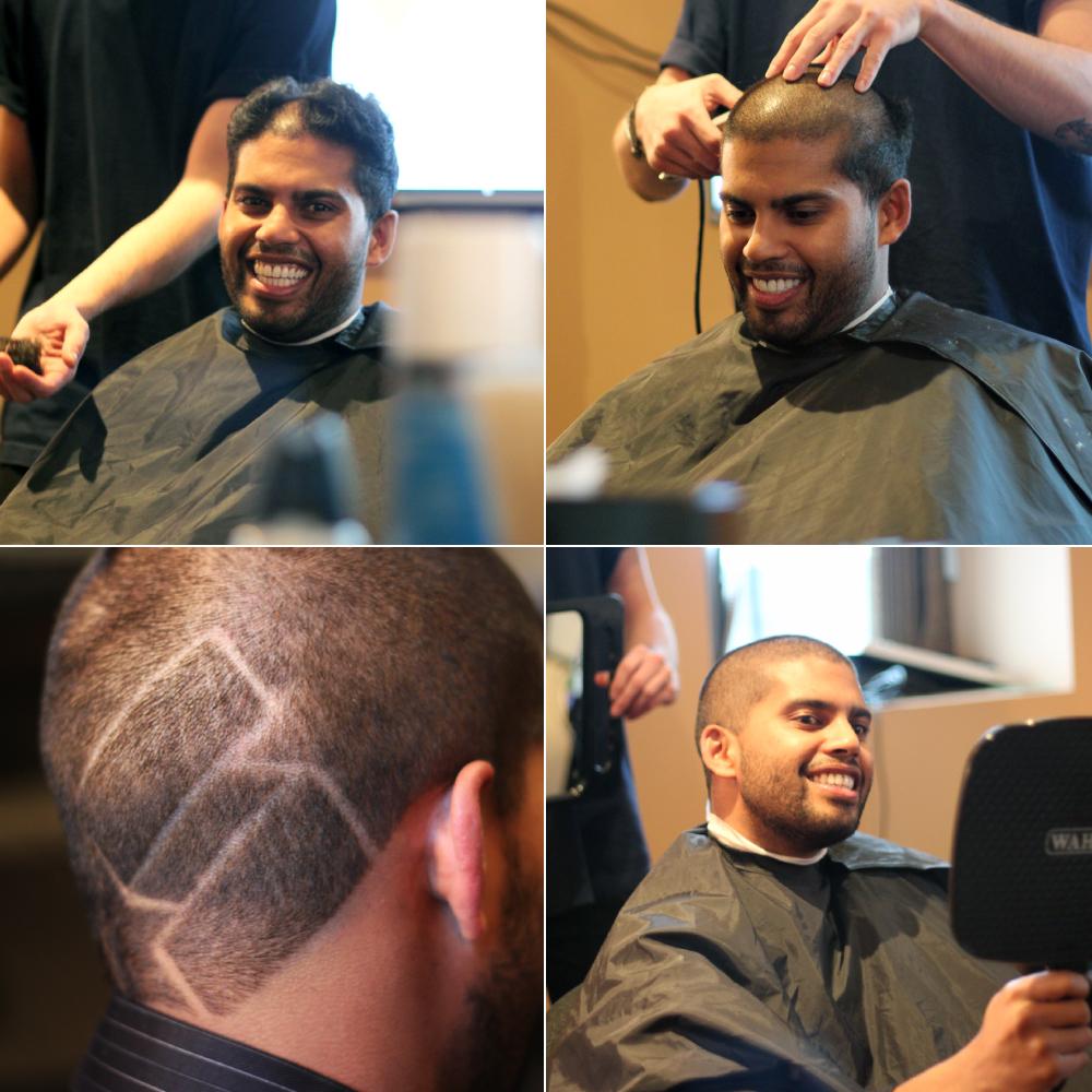 Sourov's Hair Tattoo