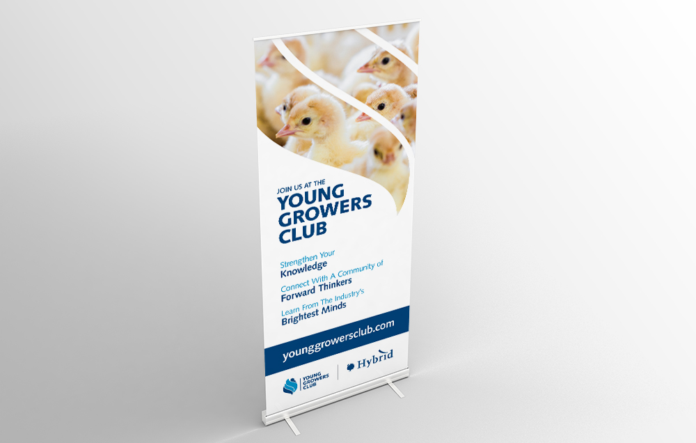 Young Growers Club Banner